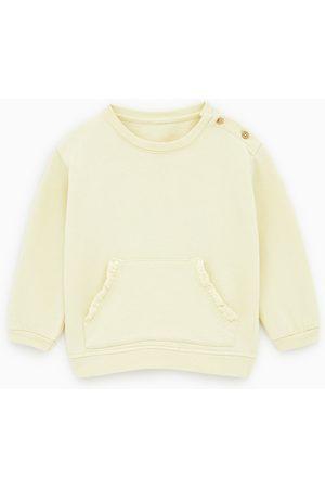 Zara Sweatshirt com bolso tipo canguru