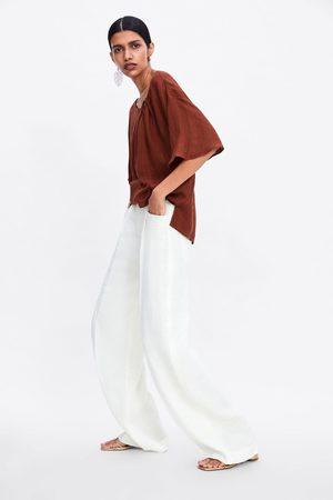 Zara Blusa com anel de metal