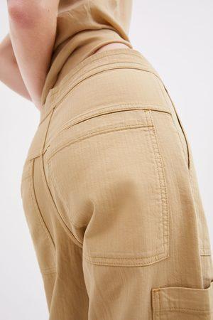 Zara Calças com bolsos