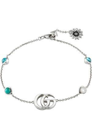 Gucci Senhora Pulseiras - Double G flower bracelet