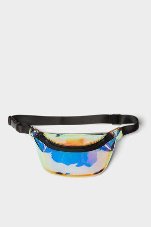 Zara Bolsa de cintura vinil