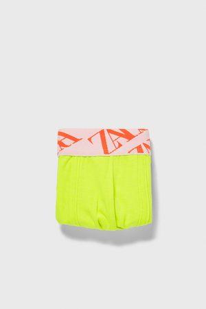 Zara Boxers com cintura jacquard