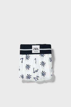 Zara Boxers com estampado de palmeiras