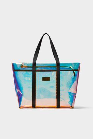 Zara Bolsa shopper vinil