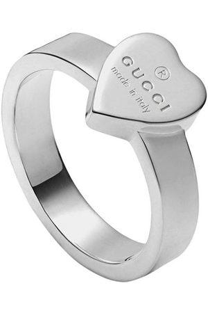 Gucci Senhora Anéis - Heart ring with trademark