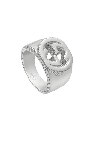 Gucci Interlocking G ring in