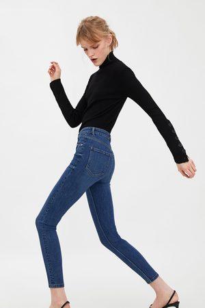 Zara Senhora Jeggings - Jegging hi-rise skinny vintage