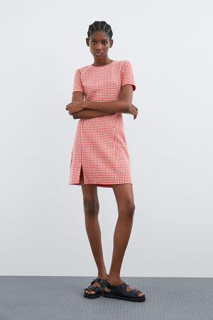Zara Vestido aos quadrados
