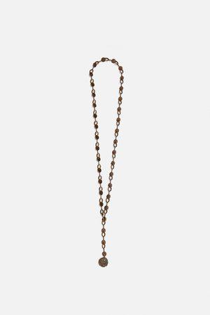 Zara Long coin necklace