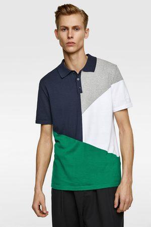 Zara Polo cor bloco