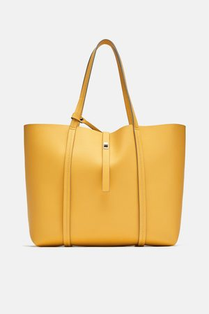 Zara Tote bag amarela