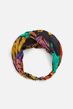 Zara Bandolete turbante estampado