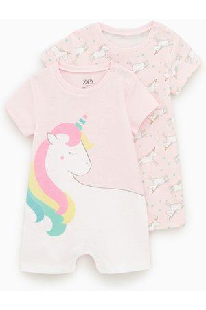 Zara Pack de dois pijamas com unicórnios