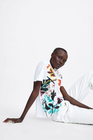 Zara T-shirt à frente