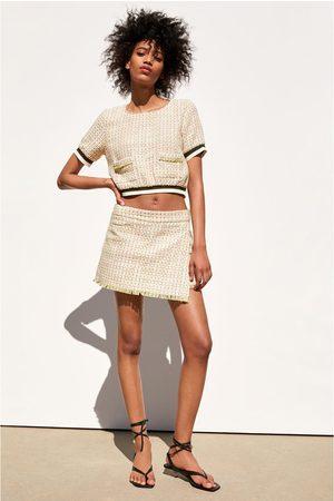 Zara Blusa tweed