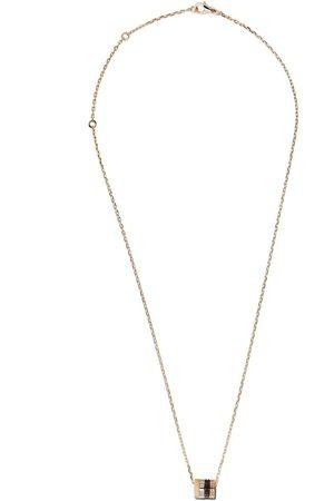 Boucheron Senhora Colares - 18kt white, yellow and rose gold Quatre Mini Ring pendant necklace