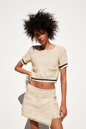 Zara Saia bermuda tweed