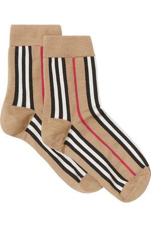 Burberry Icon Stripe Intarsia Ankle Socks
