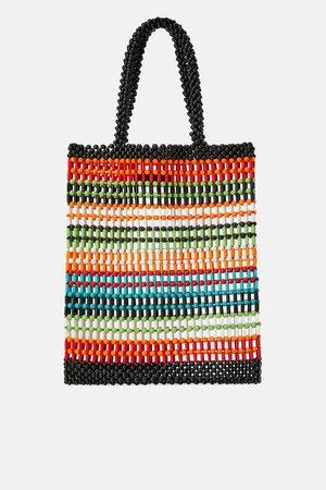 Zara Mala shopper de bolinhas coloridas