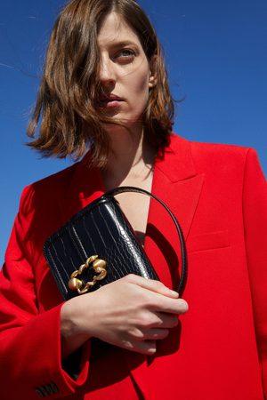 Zara Mala a tiracolo ou bolsa de cintura com estampado animal