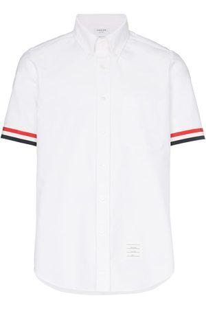 Thom Browne Grosgrain Cuff Oxford Shirt