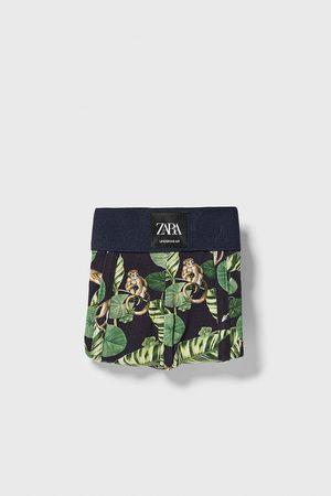 Zara Boxers com estampado floral