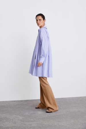 Zara Camisa oversize riscas