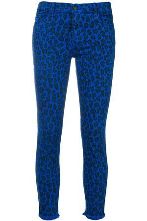 J Brand Senhora Leopard-print jeans