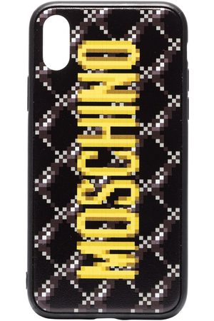 Moschino Logo printed iPhone XS case