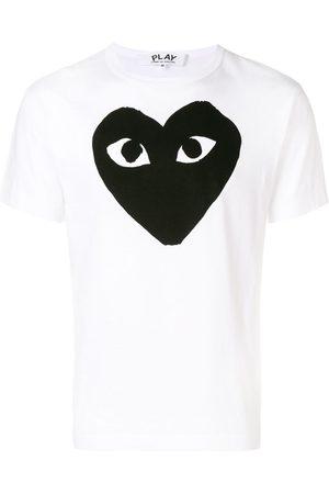 Comme des Garçons Homem T-shirts & Manga Curta - Logo print T-shirt