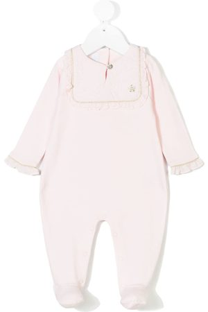 Tartine Et Chocolat Ruffled bib collar pyjama