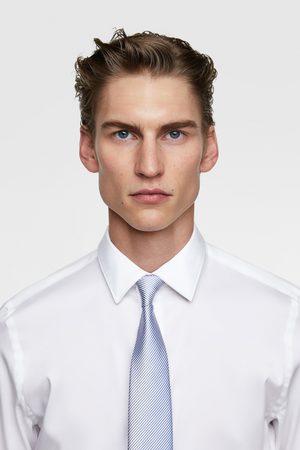 Zara Gravata larga bicolor