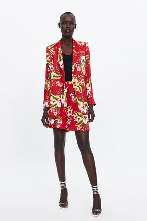 Zara Floral print bermudas