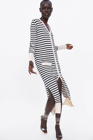 Zara Striped long cardigan