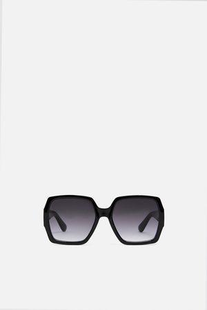 Zara Square resin sunglasses