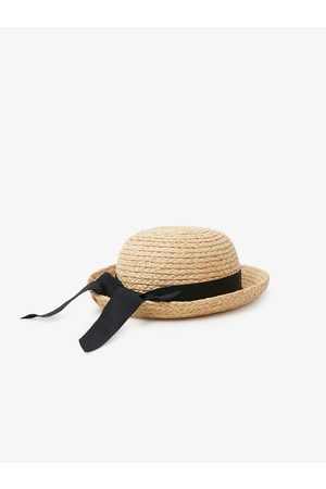 Zara Straw hat with ribbon