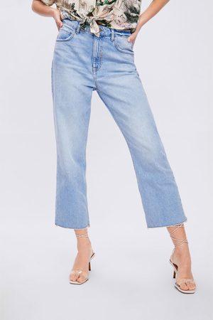Zara Z1975 straight cropped jeans