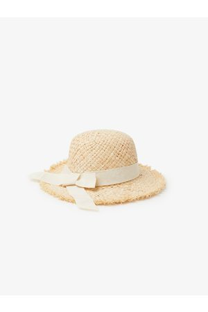 Zara Frayed straw sun hat