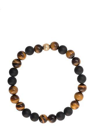 Nialaya Elasticated stone bracelet