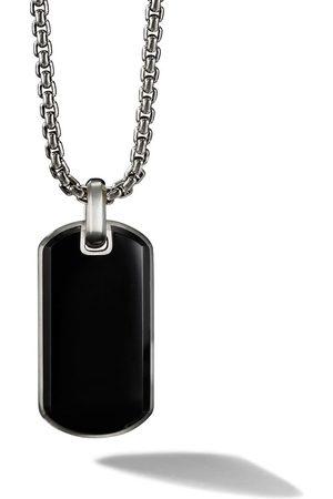 David Yurman Exotic tag necklace