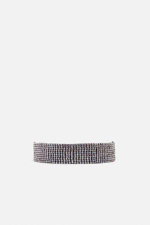 Zara Fio choker de brilho edição especial