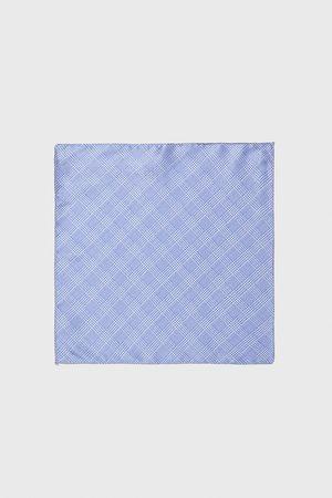 Zara Lenço de bolso aos quadrados