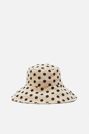 Zara Chapéu bucket às bolinhas edição limitada