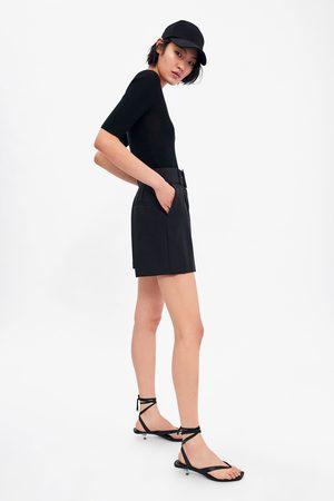 Zara Calções bermuda com cinto