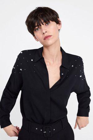Zara Camisa oversize com apliques
