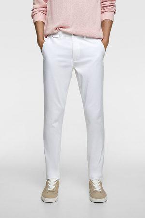 Zara Calças chino slim fit