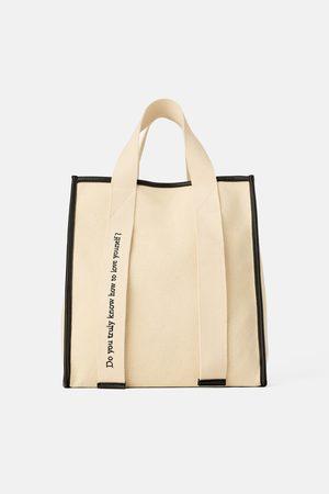 Zara Mala tote bag canvas join life
