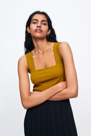 Zara Crop top de alças