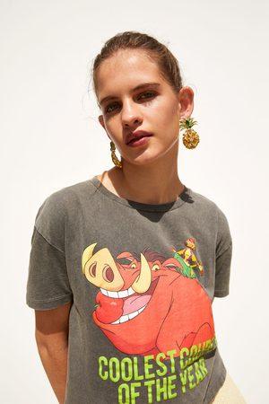 Zara T-shirt timon e pumba © disney