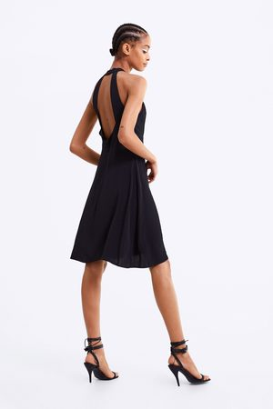 Zara Vestido com decote halter